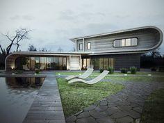 Architetti bizzarri creano case fuori dal comune