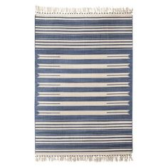 Great Style & Price from Target - Mudhu Beaded Flatwoven Stripe Area Rug