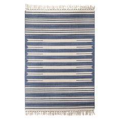 / Mudhut™ Beaded Flatwoven Stripe Area Rug