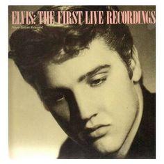 LP ELVIS THE first live recordING   1984 EU