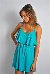 Sea turtle stream dress - gorgeous color and I love how it flows! #hallelu