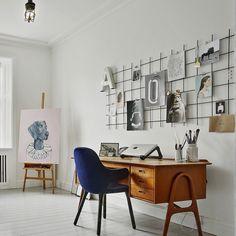 Home Office Wall Decor Ideas . 24 Inspirational Home Office Wall Decor Ideas . Modern Office Decor, Modern Desk, Office Wall Decor, Office Walls, Home Office Design, Office Ideas, Desk Ideas, Office Chairs, Wall Ideas