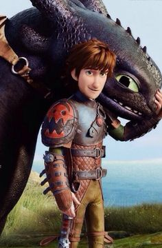 Hiccup and toothless unseperable friendship