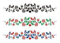 Hungarian Tattoo, Hungarian Embroidery, Photo Mural, Photo Art, Abstract Pattern, Abstract Art, Flower Embroidery Designs, Embroidery Ideas, Custom Wall Murals