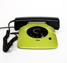 MOMA Rotary Telephone  Iskra ETA 80 82   by TheCuriousCaseShop, €50.00