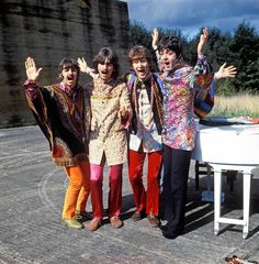 "The Beatles in the ""I Am The Walrus"" sequence of ""Magical Mystery Tour."" (PBS / August 21, 2012)"