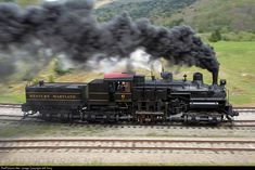 Net Photo: WM 6 Western Maryland Railway Steam Shay at Spruce, West Virginia by Jeff Terry Locomotive Diesel, Steam Locomotive, Old Steam Train, Holland, Train Pictures, Old Trains, Train Engines, Model Train Layouts, Steam Engine