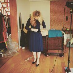 My home studio photo-shooting backstage mess :)