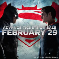 Suit up. Get advance tickets for #BatmanvSuperman on Monday, February 29th at http://www.GQTI.com.
