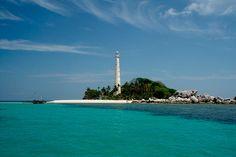 Lighthouse on Belitung Island, Indonesia