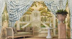 Art Nouveau, Art Deco, Antique Show, Autumn Art, Chinoiserie, Fresco, 19th Century, Backdrops, Antiques