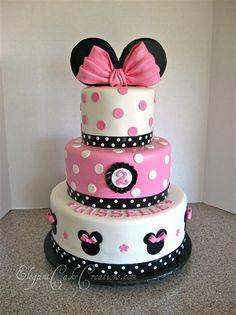 Very nice Mini mouse cake :)