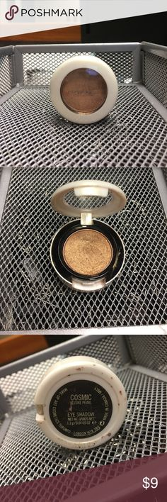 MAC EYESHADOW- Cosmic Gold and shimmery.  Lightly used. MAC Cosmetics Makeup Eyeshadow