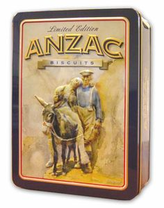 WANTED - ANZAC commemorative tin sold with ANZAC biscuits in. Does anyone have this tin sold in New Zealand?  Can anyone advise me how I can purchase one of these tins please.