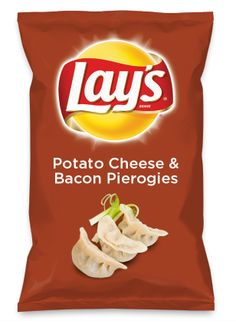 Wouldn't Potato Cheese & Bacon Pierogies be yummy as a chip? Lay's Do Us A Flavor is back, and the search is on for the yummiest flavor idea. Create a flavor, choose a chip and you could win $1 million! https://www.dousaflavor.com See Rules.