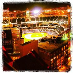 Petco Park for the hubby (where the padres play)