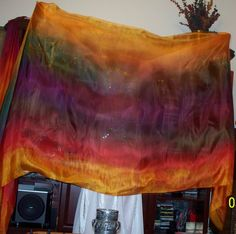 Sahariah's Silk Belly Dance Veil Rectangle 3 by SilksbySahariah, $45.00