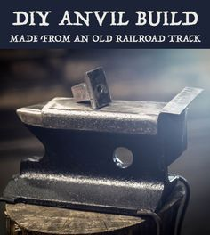 Classic construction of an anvil.