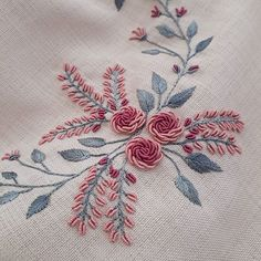 Embroidery On Kurtis Hand Embroidery Stitches Hand Embroidery Designs Embroidery Dress Embroidery Patterns Brazilian Embroidery Meraki Jelsa Blouse Designs Hand Embroidery Design Patterns, Hand Embroidery Dress, Hand Embroidery Videos, Embroidery Stitches Tutorial, Embroidery Flowers Pattern, Learn Embroidery, Embroidery Techniques, Ribbon Embroidery, Embroidered Flowers