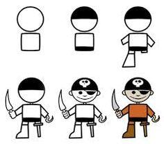 pirate drawing - Google Search