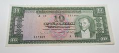Turkey Central Bank Series Ten Liras Kamal Ataturk Pick Number 156 Nice Very Fine Banknote Holland, Istanbul, Berlin, Central Bank, Postage Stamps, Coupons, Ebay, Banknote, Number