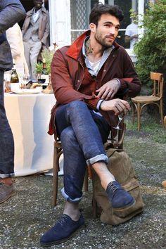 Jacket and shoe combo