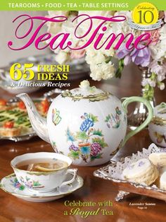 28 Best TeaTime Magazine Covers images in 2019 | Tea time