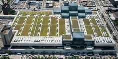 There's a Giant Green Roof Hidden Above NYC's Biggest Convention Center