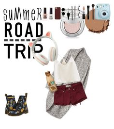 """""""Traveling in Style"""" by red-insanity-love on Polyvore featuring Urban Decay, New Look, MAC Cosmetics, Smashbox, Bling Jewelry, BlackMoon, Sephora Collection, Abercrombie & Fitch, Dr. Martens and Scotch & Soda"""