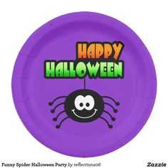 Funny Spider Halloween Party