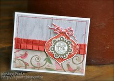 @ home with Studio K: Pear and Partridge paper