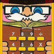 I remember this!!  1970s calculator