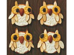 What a Hoot! These Owl Shaped Snacks are soo cute and easy to make in your Red Oak Apartment! Brighten Up Snack Time with Cute Owl Crackers