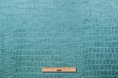 Mood Fabrics : New York Fashion Designer Discount Fabric | 102148 Aqua Animal Upholstery Velvet