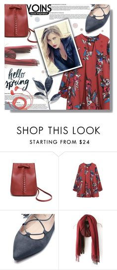 """""""Yoins"""" by jiabao-krohn ❤ liked on Polyvore featuring FOSSIL, yoins, yoinscollection and loveyoins"""