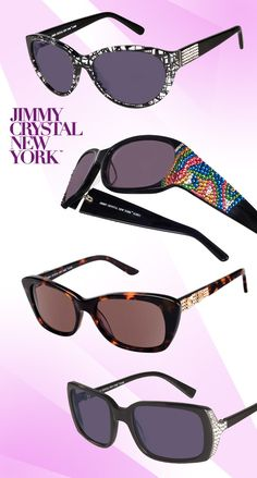 Get Bedazzled with Jimmy Crystal Shades: http://eyecessorizeblog.com/?p=4274