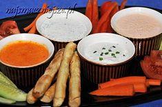 Dipy i sosy do warzyw i grissini Hummus, Grilling, Healthy Recipes, Ethnic Recipes, Food, Crickets, Essen, Healthy Eating Recipes, Meals