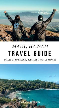 What To Do in Maui, Hawaii For One Week: Full Itinerary And Travel Tips — Go Seek Explore - What to do in Maui, Hawaii for one week: full itinerary and travel tips! What to do in Maui, what t - Hawaii Travel Guide, Maui Travel, Usa Travel Guide, Travel Usa, Travel Guides, Travel Tips, Travel Destinations, Travel Deals, Travel Luggage