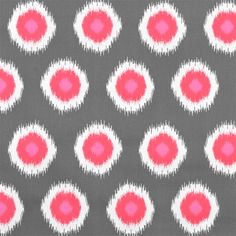 Premier Prints Ikat Domino Flamingo via Online Fabric Store Flamingo Fabric, Ikat Fabric, Drapery Fabric, Wall Fabric, Pink Fabric, Peacock Fabric, Orange Fabric, Drapery Panels