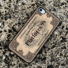 ticket london to hogwarts case iPod 5th generation by Bufordesign, $14.15