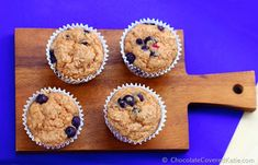Low Fat Blueberry Muffins. Blueberry muffins so perfectly light, it's almost impossible to believe they're low in fat! Yogurt takes the place of the oil or butter in the recipe, adding moisture and softness without weighing the muffins down. I'm normally not a fan of fat-free baked goods at all… but even I was amazed …