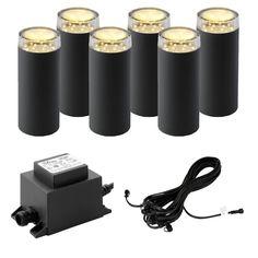 Techmar Plug and Play - Linum LED Garden Light Kit - 6 Lights