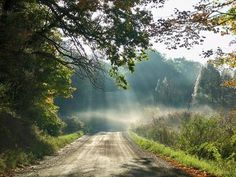 Images of Michigan country roads | country road outside Jackson, Michigan