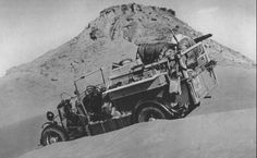 1935 January - April W.B.K. Shaw and party make an extraordinary journey, traversing virtually all major parts of the Libyan desert.