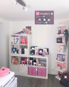 Girl Bedroom Designs, Room Ideas Bedroom, Bedroom Decor, Army Room Decor, Cute Room Decor, Kawaii Room, Bts, Aesthetic Room Decor, Room Setup