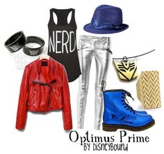 disney bound outfits | DisneyBound Outfits Something / optimus prime