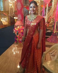 Anika from Ishqbaaz,half saree styles. Fashion trends from Anika Ishqbaaz