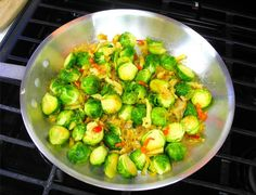 How brussels sprouts would be done in the Caribbean if we had access to them. Click to read the recipe and watch the cooking demo