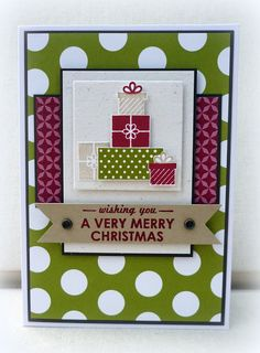White House Stamping: Merry Mashup!