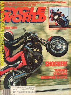 1986 FZX700 Fazer Road Test / Specs – A Fazer set to stun